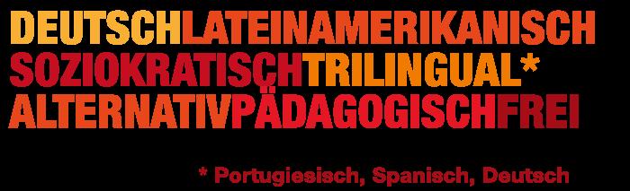 Die APEGO Schule als Wordle.